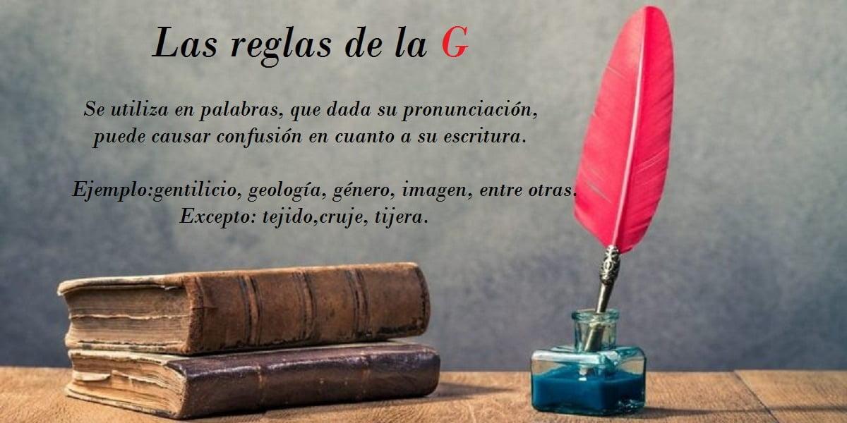 Reglas de la G