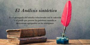 análisis sintáctico