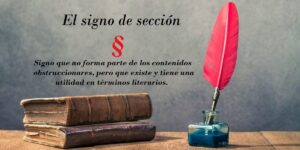 el signo de sección1