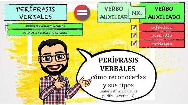 perífrasis verbal