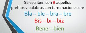 reglas de la b 4
