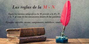 reglas de la m - n