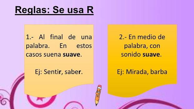 reglas de la r - rr 1