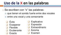 reglas de la x 3