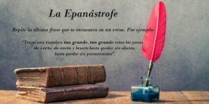 ¿Qué quiere decir epanástrofe? 5 ejemplo