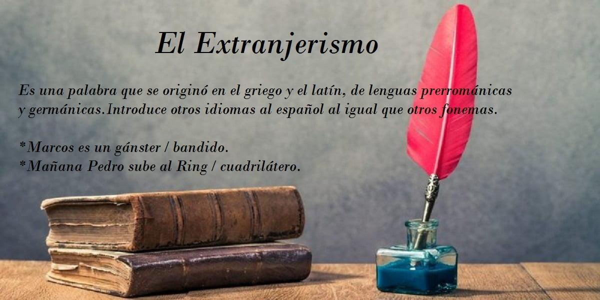 Extranjerismo