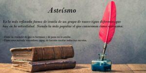 Asteísmo