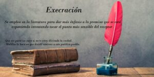 Execración ¿Qué es? 7 ejemplos