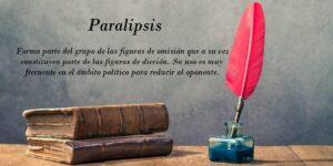 Paralipsis ¿Qué es? ejemplos